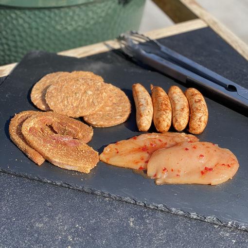 Afbeeldingen van Barbecue pakket 4 personen - basis (16 stukken vlees)