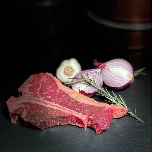 Afbeeldingen van Dry aged T-bone steak (ca. 500 a 600 gram)