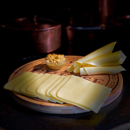 Afbeeldingen van Jong belegen kaas gesneden (1 kilo)